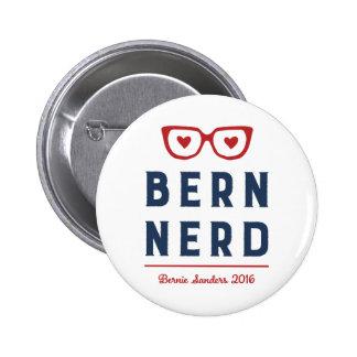 Chorreadoras de Bernie para el empollón divertido Pin Redondo De 2 Pulgadas
