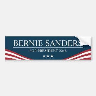 Chorreadoras de Bernie para el presidente 2016 Pegatina Para Auto