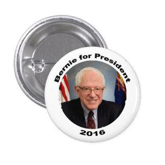 Chorreadoras de Bernie para el presidente 2016 Pin Redondo De 1 Pulgada