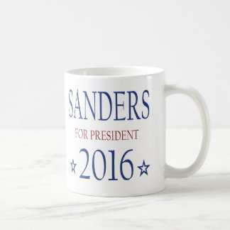 Chorreadoras de Bernie para el presidente 2016 Taza Básica Blanca