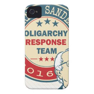 Chorreadoras de Bernie para el presidente Funda Para iPhone 4