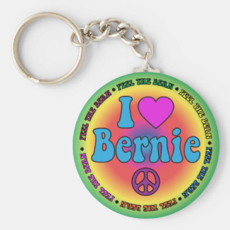 Chorreadoras de Bernie para el presidente Llavero Redondo Tipo Pin