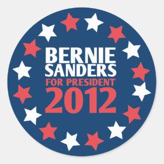 Chorreadoras de Bernie para el presidente pegatina