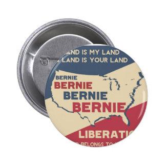 Chorreadoras de Bernie para el presidente Pin Redondo 5 Cm