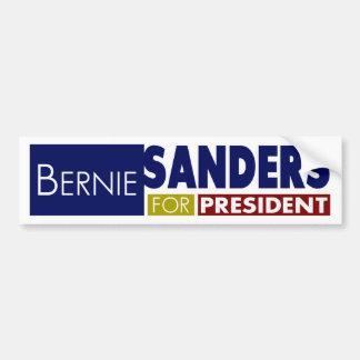 Chorreadoras de Bernie para presidente V1 Pegatina Para Auto
