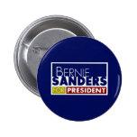 Chorreadoras de Bernie para presidente V1 Pin Redondo 5 Cm