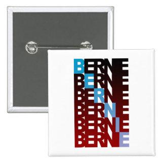 Chorreadoras de BERNIE textualBern Pin Cuadrada 5 Cm