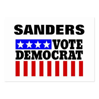Chorreadoras Demócrata de Bernie del voto para el Tarjetas De Visita Grandes