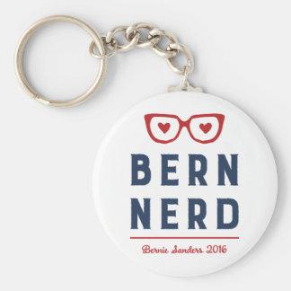 Chorreadoras divertidas del empollón el | Bernie Llavero Redondo Tipo Pin