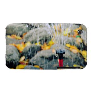 Chorro de agua iPhone 3 Case-Mate protector
