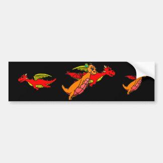 Chortle and Flitter Bumper Sticker