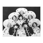 Chorus Girls Group Canvas Print - 1706461.jpg