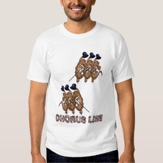 Chorus line t-shirt