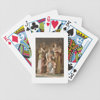 Chorus of Israelite Women, costumes for 'Esther' b Bicycle Playing Cards