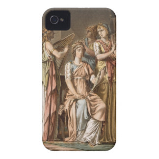 Chorus of Israelite Women, costumes for 'Esther' b iPhone 4 Cover