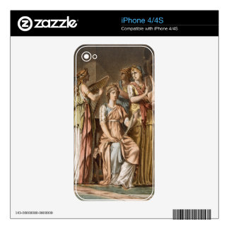 Chorus of Israelite Women, costumes for 'Esther' b Decal For iPhone 4