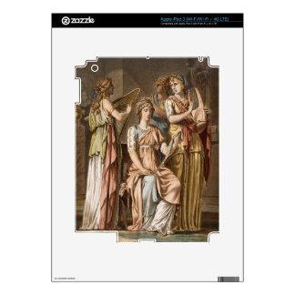 Chorus of Israelite Women, costumes for 'Esther' b iPad 3 Skin