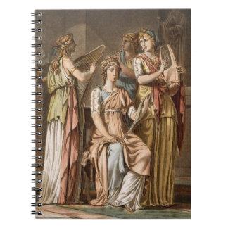 Chorus of Israelite Women, costumes for 'Esther' b Notebook
