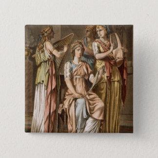 Chorus of Israelite Women, costumes for 'Esther' b Pinback Button
