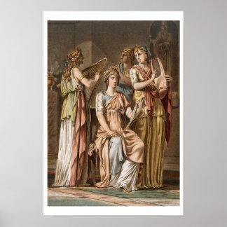 Chorus of Israelite Women, costumes for 'Esther' b Poster