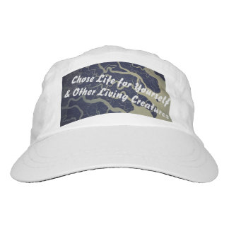 Chose Life for Yourself & Other Living Things Headsweats Hat