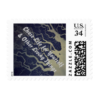 Chose Life for Yourself & Other Living Things Postage