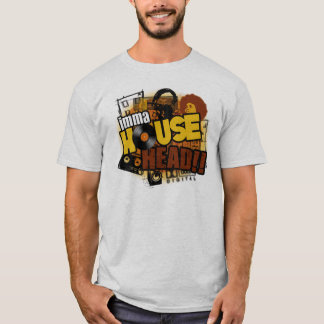 Chosen Few House Music - House Head T Shirt