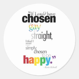 Chosen Sticker