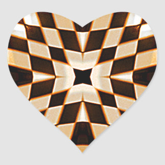 Choses_ Pegatina En Forma De Corazón