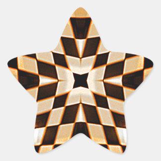 Choses_ Pegatina En Forma De Estrella