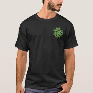 Chosokabe Clan Black & Green Seal Shirt