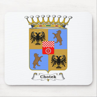 Chotek Family Hungarian Coat of Arms Mouse Pad