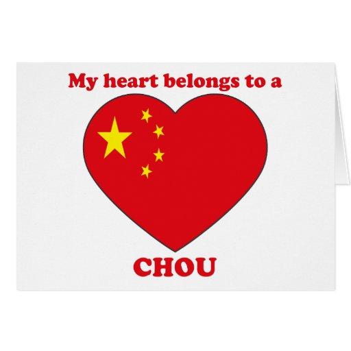 Chou Greeting Cards