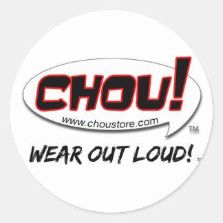 CHOU Sticker