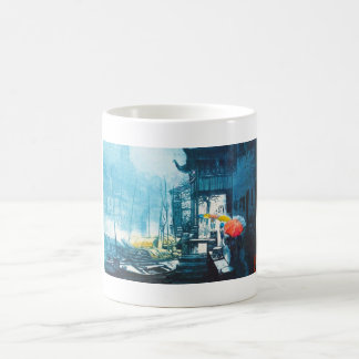 Chou Xing Hua Suzhou Scenery chinese painting Coffee Mug