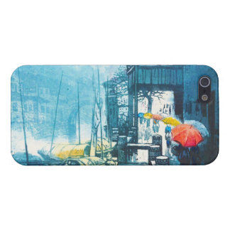 Chou Xing Hua Suzhou Scenery chinese painting iPhone 5/5S Covers