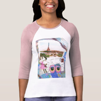 Chouette Owl Goes To Paris T-Shirt