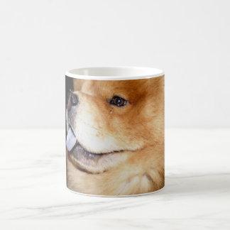 Chow1e Classic White Coffee Mug