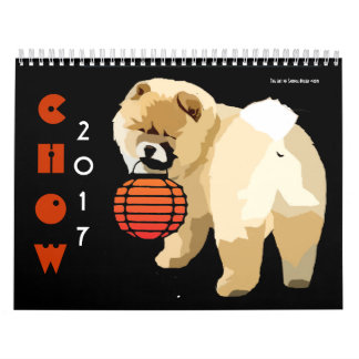 CHOW 2017..rerelease of last year's calender Calendar