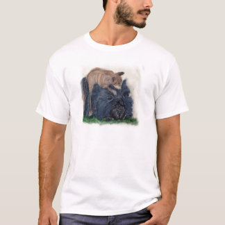 Chow and Cat T-Shirt