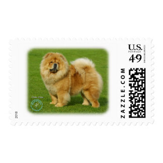 Chow Chow 9B008D-17 Postage