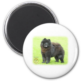 Chow Chow 9B008D-25 2 Inch Round Magnet