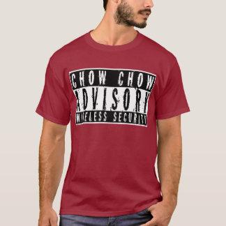 Chow Chow Advisory Wireless Security T-Shirt