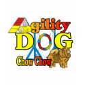 Chow Chow Agility Gifts shirt