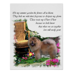 Chow Chow Art Gifts print