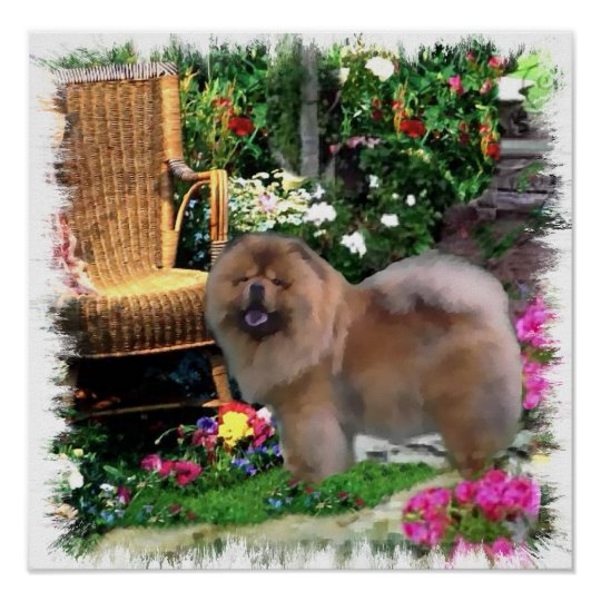 Chow Chow Art Gifts Poster