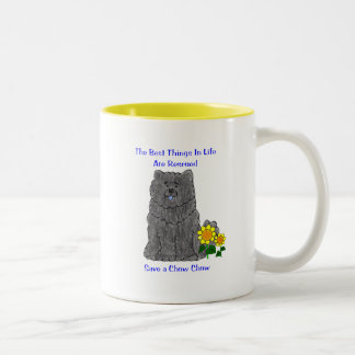Chow Chow Black Best Things In Life Mug