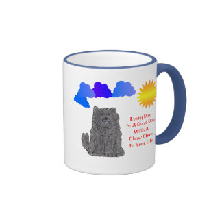 Chow Chow Black Every Day Is A Good Day Mug