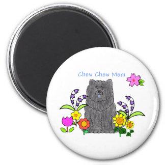 Chow Chow Black Mom Magnet