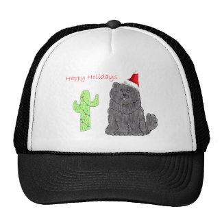 Chow Chow Black Trucker Hat